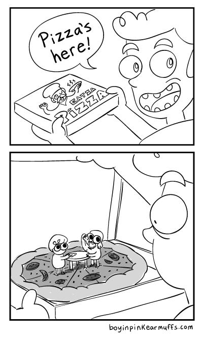 PizzaComic